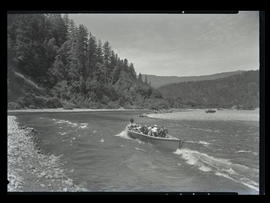 Boat on the Rogue River