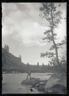 Finley Fishing on the Klamath River