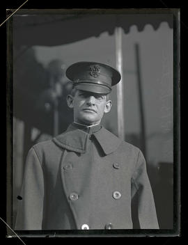 Colonel R. B. Lister on visit to Portland