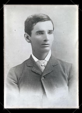 Photograph of C. S. Jackson in 1880