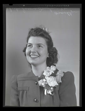 1942 Portland Rose Festival Princess Shirley Louise Fowler, Franklin High School