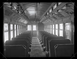 Interior of urban train car #1098