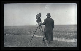 R. Bruce Horsfall with camera