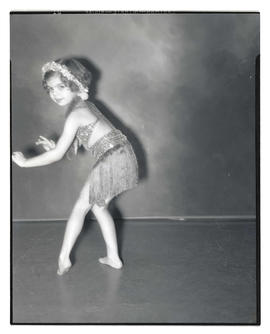 Dolores Mitchell in dance costume