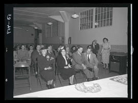 Seated audience