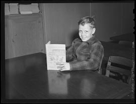 Vanport School student at opening