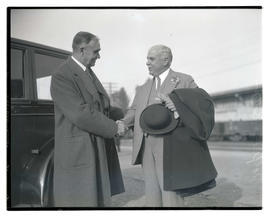 Portland Mayor George L. Baker and San Francisco Mayor James Rolph