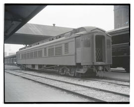 Railroad car at Union Station, Portland