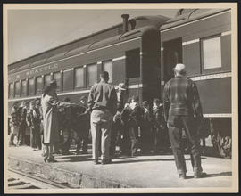 Cub Scout Train Excursion from Bend to Madras, Oregon