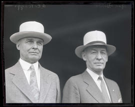 C. E. Riggs and General Hines