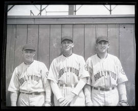 Rhodes, Carlyle, and Roka, baseball players for Hollywood