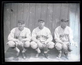 Holly, McCabe, and Boraga, baseball players for Hollywood