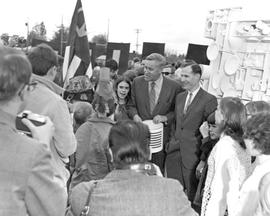 Governor Tom McCall at a 1970 Earth Day Celebration