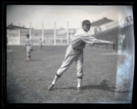 Rhodes, baseball player, possibly for Hollywood