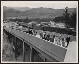 United Nations Victory Special Train at North Bonneville Station, Washington