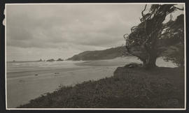 Looking North from Mouth of Elk Creek - Cannon Beach, Oregon