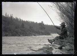 Cole Fishing on the Klamath River