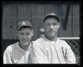Harper and Delaney, baseball players for Los Angeles