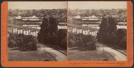 """Panorama of Victoria (B. C.) from the Government Buildings, (No. 11.)"" (Stereograph 5274)"
