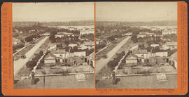 """Panorama of Victoria (B. C.) from the Government Buildings, (No. 6.)"" (Stereograph 5269)"