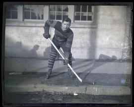 Buster Huffman, hockey player for Portland Buckaroos