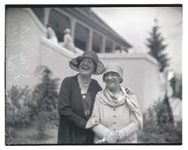 Mrs. J. M. Yates and Mrs. Pat Allen