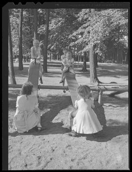 Children at city park