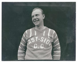 Sandberg, hockey player for East-Side C. C.