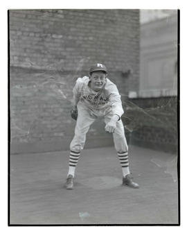 Baseball player for Union Avenue Merchants
