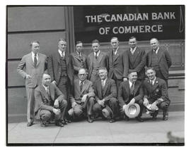 Group outside Canadian Bank of Commerce