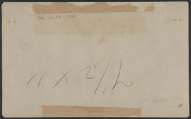 "Verso of ""D96. Castle Rock, Columbia River Scenery, Oregon."""