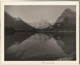 Photograph of Lake McDermott, Glacier National Park