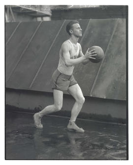 Heinz Sonnekes, basketball player for Multnomah Gun Club