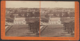 """Panorama of Victoria (B. C.) from Christ Church, (No. 17.)"" (Stereograph 5293)"