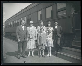 C. Stanley Mitchell and family