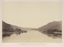 """O.38. An October Day on the Columbia. View from Rock Bluff."""