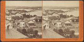 """Panorama of Victoria (B. C.) from the Government Buildings, (No. 7.)"" (Stereograph 5270)"