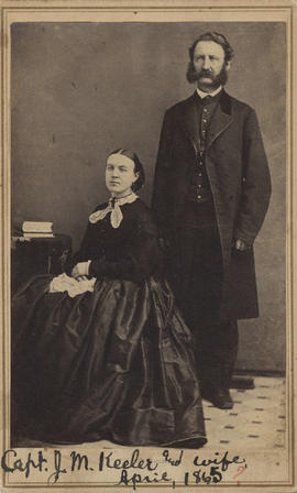 Keeler, Julius M. and Sylvia M. (Marshall)