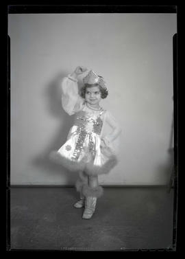 Dolores Mitchell, wearing dance costume