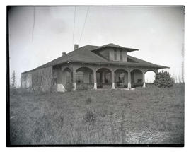 Senti family home, site of murder