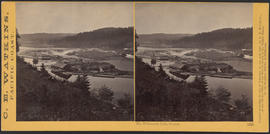 """The Willamette Falls, Oregon."" (Stereograph 1222)"