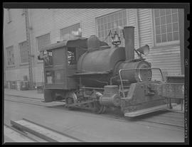 Steam engine at Willamette Iron and Steel Corporation