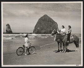 Meeting on Cannon Beach