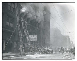 Fire at Pacific Stationery and Printing Company, Portland