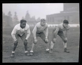 Cannady, Daniels, and Armentrout, Grant High School football players