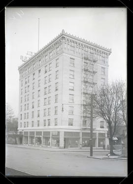 Congress Hotel building, 6th and Main, Portland