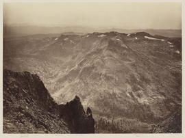 """Round Top from a point just below [summit]."" (Mammoth 1285)"