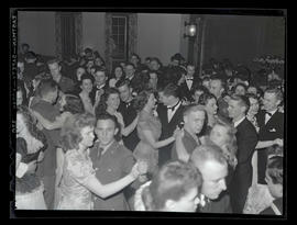 Students and dates at Marylhurst College senior ball, 1945?