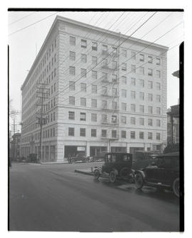 Unidentified building at corner of 11th Street, Portland?