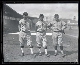 Ellsworth, Cutshaw, and Grebel, baseball players for Seattle